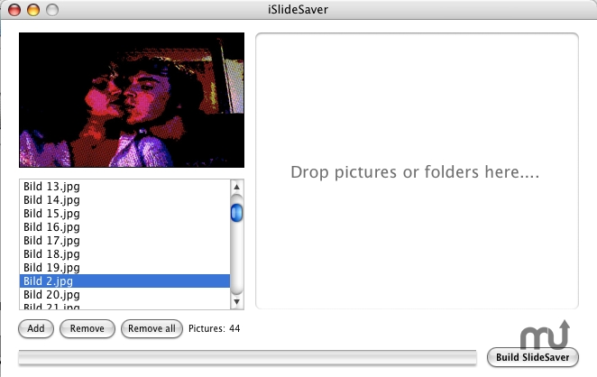 Screenshot 1 for iSlideSaver