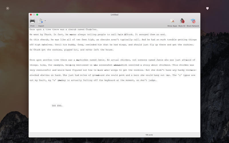 Screenshot 3 for Writer