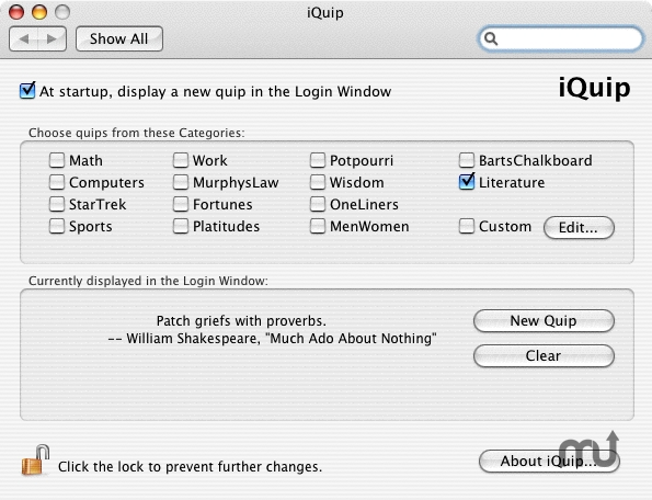 Screenshot 1 for iQuip