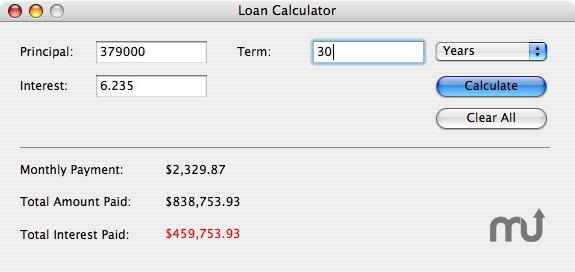 Screenshot 1 for Loan Calculator