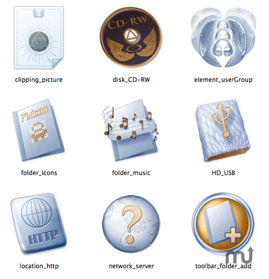 Screenshot 1 for Paradise System Icons
