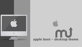 Screenshot 1 for Apple Boot Desktop Theme