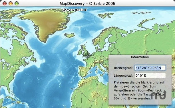 Screenshot 1 for MapDiscovery