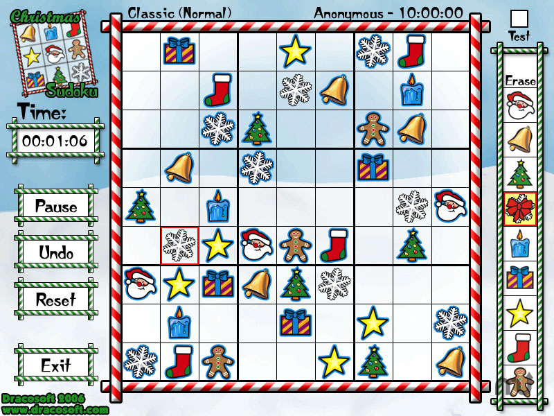 Screenshot 1 for Christmas Sudoku