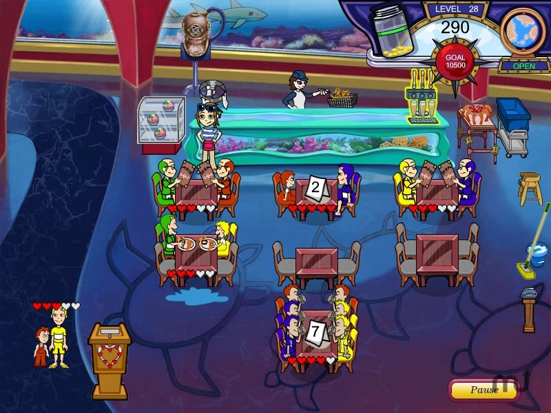 Screenshot 1 for Diner Dash - Flo on the Go