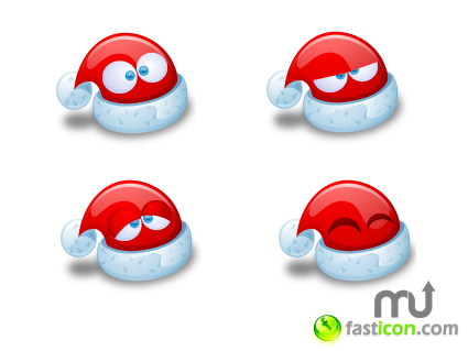 Screenshot 1 for Santa Claus Hat Icons