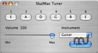Screenshot 1 for SkalMac Tuner
