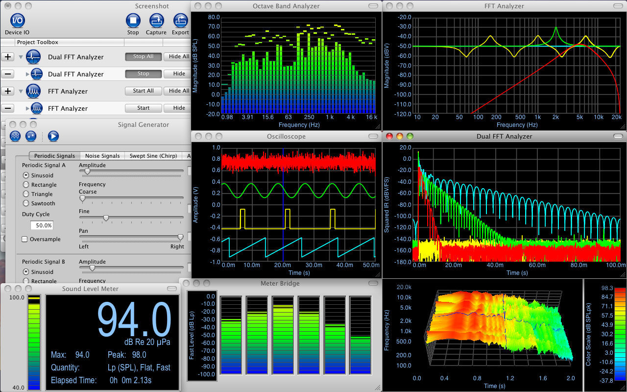 Screenshot 1 for Electroacoustics Toolbox
