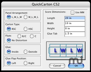 Screenshot 1 for QuickCarton_CS2