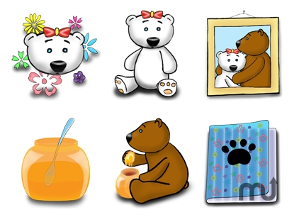 Screenshot 1 for Teeny Bears icons