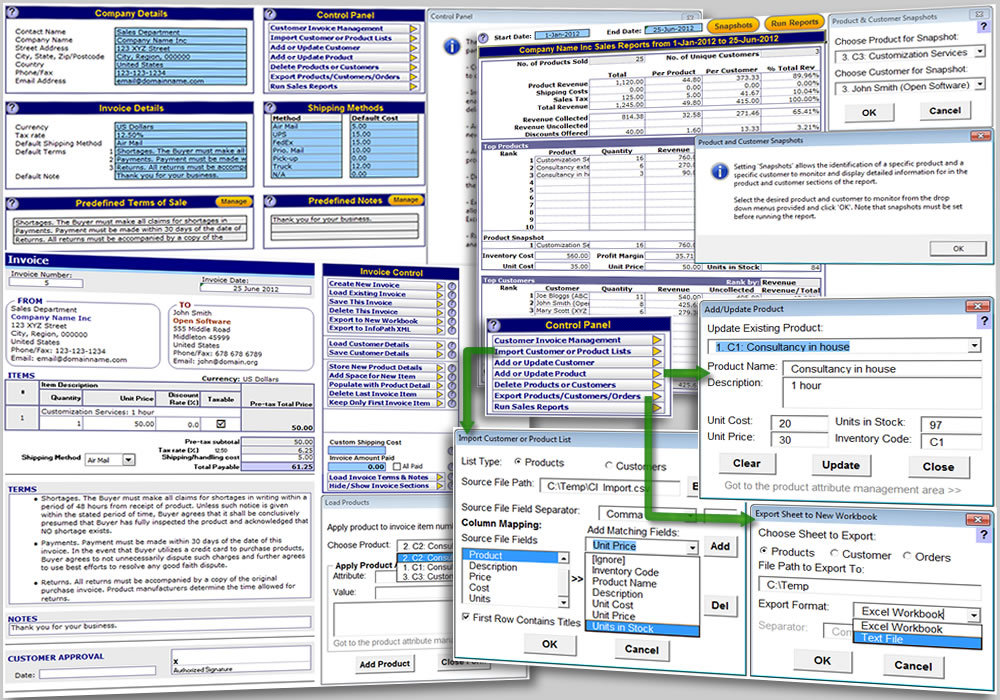 Customer Invoice Template Free Download For Mac MacUpdate - Free customer invoice