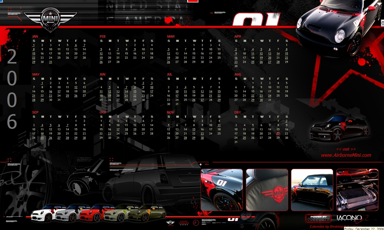 Screenshot 1 for Airborne Mini Calendar