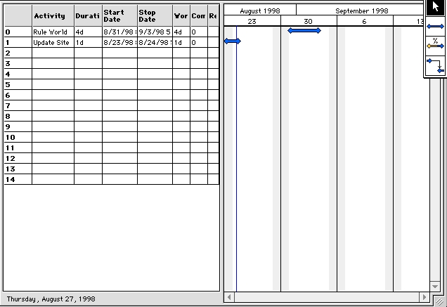 Screenshot 1 for ProjectPlanner