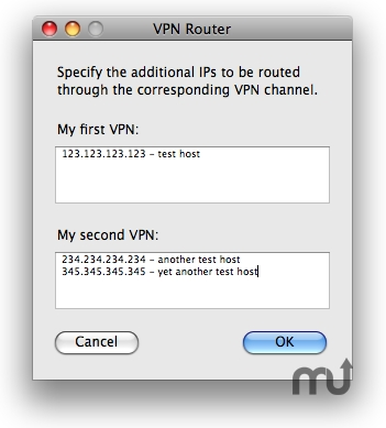 Screenshot 1 for VPN Router