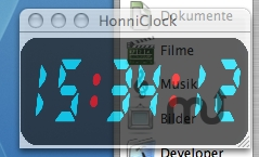 Screenshot 1 for HonniClock