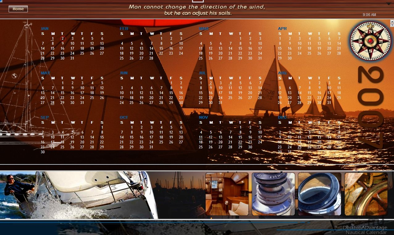 Screenshot 1 for Nautical Calendar