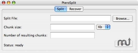 Screenshot 1 for PteroSplit