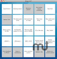 Screenshot 1 for Keynote Bingo