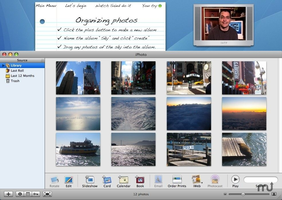 Screenshot 1 for It's About Time to learn iPhoto