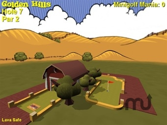 Screenshot 1 for Minigolf Mania