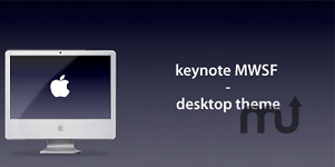Screenshot 1 for Keynote MWSF - Desktop Theme