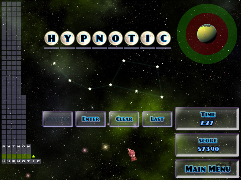 Screenshot 1 for Word Galaxies Expert Edition