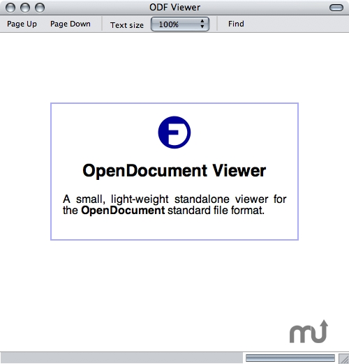 Screenshot 1 for OpenDocument Viewer