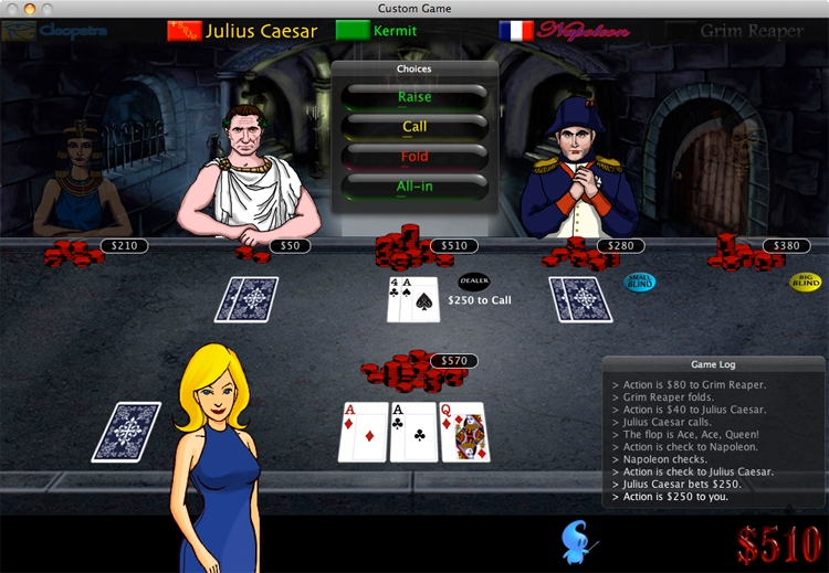 Screenshot 1 for Imagine Poker