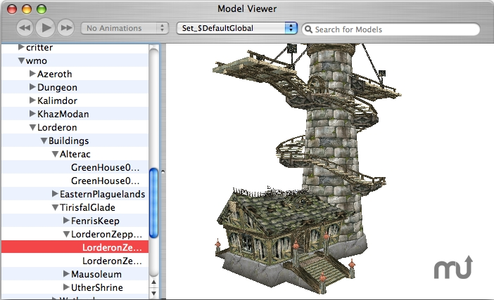 Screenshot 1 for WowModelView