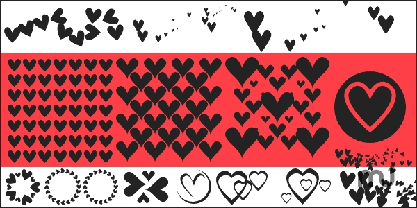 Screenshot 1 for Symbols Pack 11 Hearts