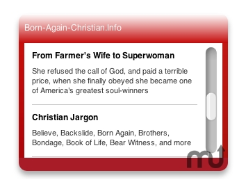Screenshot 1 for Christian News Widget