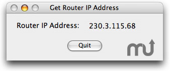 Screenshot 1 for Router IP Address