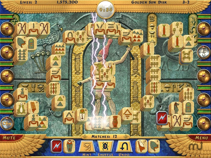 Screenshot 1 for Luxor Mahjong