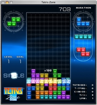Screenshot 1 for Tetris Zone