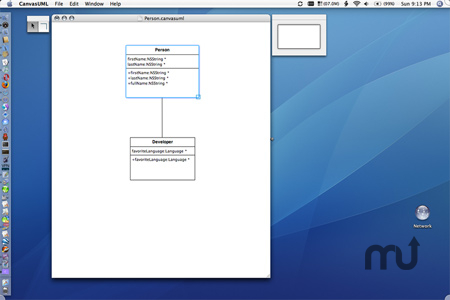 Screenshot 1 for CanvasUML