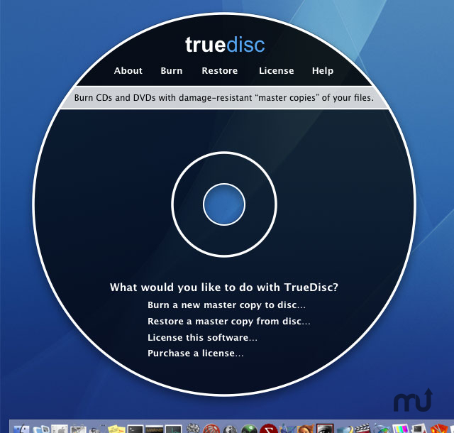 Screenshot 1 for TrueDisc