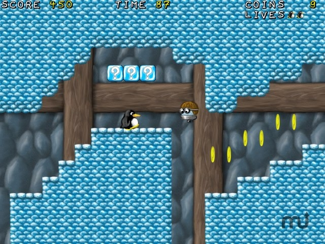 Screenshot 1 for Tux Strikes Back