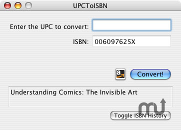 Screenshot 1 for UPCToISBN