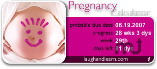 Screenshot 1 for Pregnancy Calculator