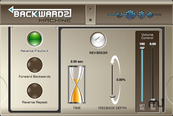 Screenshot 1 for Backwards Machine