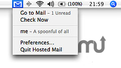 Screenshot 1 for Google Hosted Mail