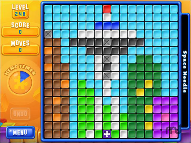 Screenshot 1 for Super Collapse! Puzzle Gallery