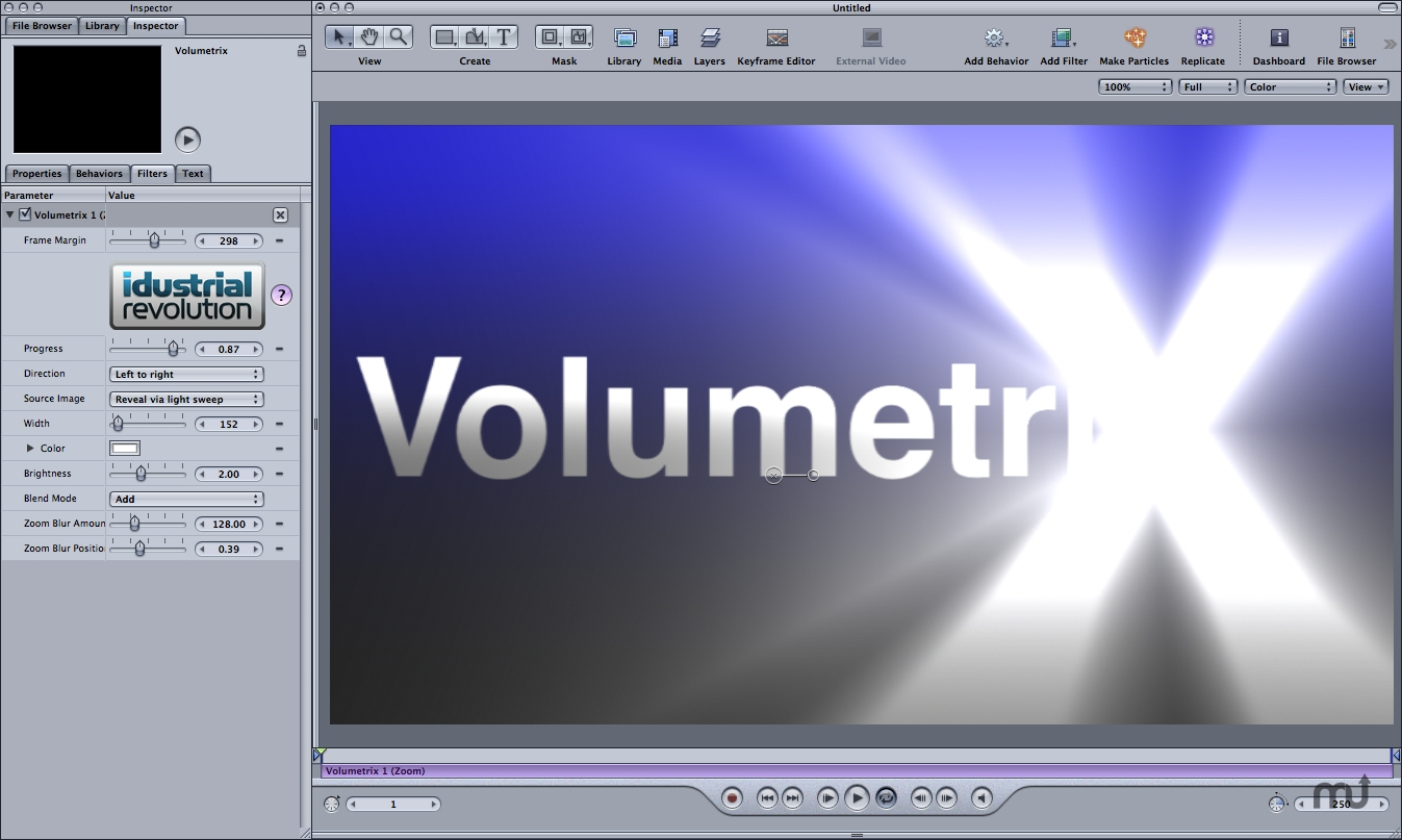 Screenshot 1 for Volumetrix