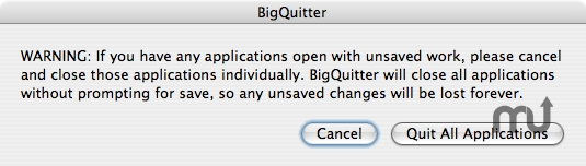 Screenshot 1 for BigQuitter