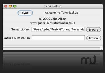 Screenshot 1 for Tune Backup