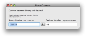 Screenshot 2 for Binary Converter