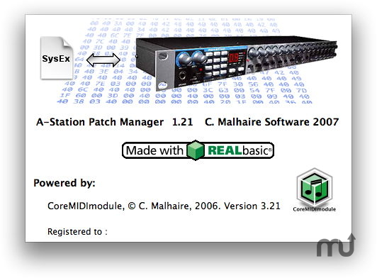 Screenshot 1 for A-Station Patch Manager