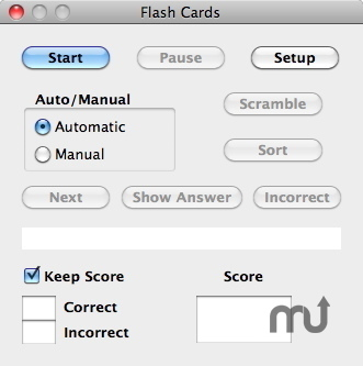 Screenshot 1 for Flash Cards
