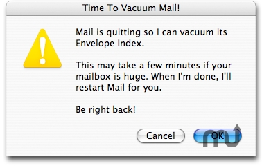 Screenshot 1 for VacuumMail