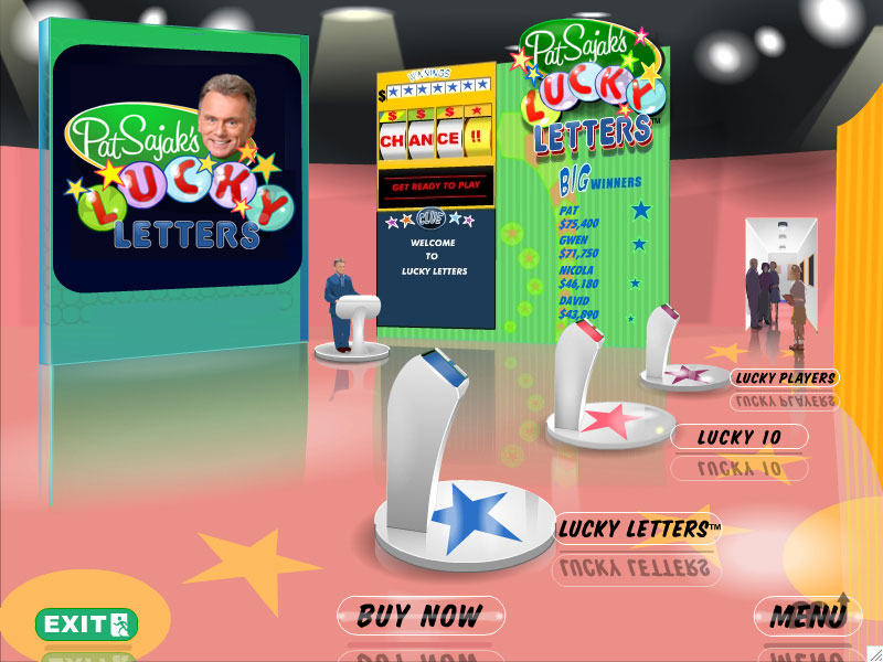 Screenshot 1 for Pat Sajak's Lucky Letters